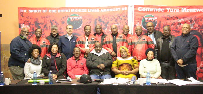 Former NEHAWU NOBs and current NOBS