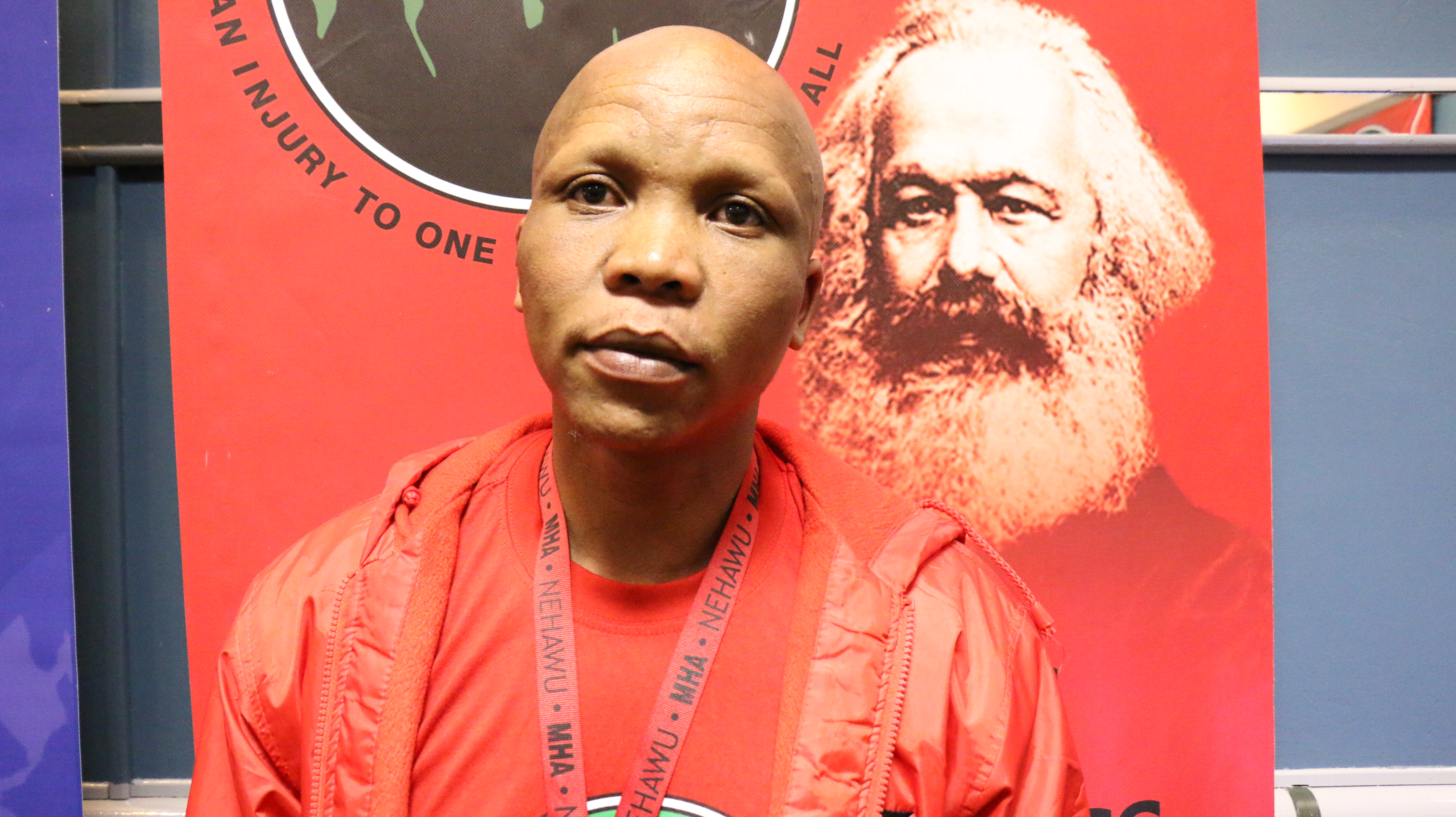 The Free State Provincial Chairperson - Moeketsi Napo