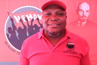 Northern Cape Provincial Deputy Chairperson Mzikayise Matebese